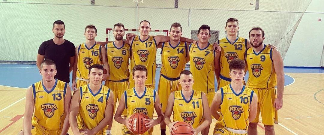 Seniorska ekipa košarkaškog kluba Stoja